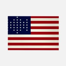 The Union Civil War Flag Rectangle Magnet (10 pac