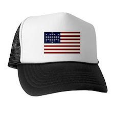 The Union Civil War Flag Trucker Hat