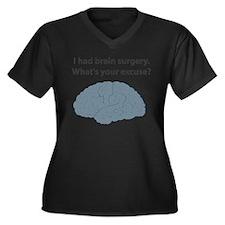 I had brain surgery. What's Women's Plus Size V-