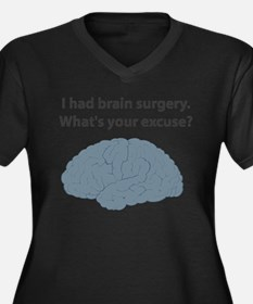 I had brain surgery. What's Women's Plus Size V-