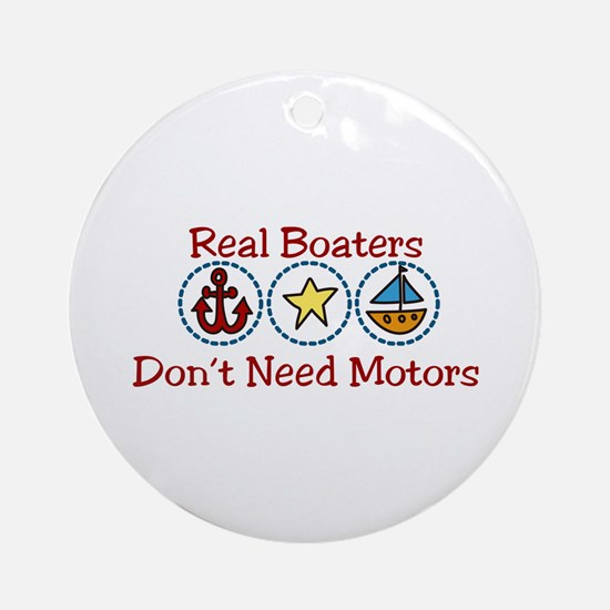 Real Boaters Ornament (Round)