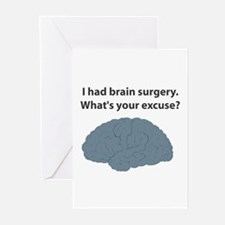 I had brain surgery. What's Greeting Cards (Pack