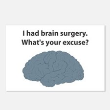 I had brain surgery. What's Postcards (Package o