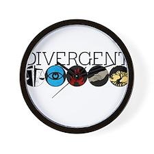 Divergent1 Wall Clock