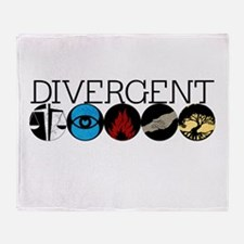 Divergent1 Throw Blanket
