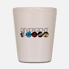 Divergent1 Shot Glass