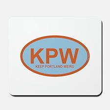 KPW - Keep Portland Weird Mousepad