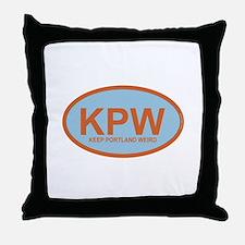 KPW - Keep Portland Weird Throw Pillow