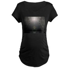 God Is Light Maternity T-Shirt