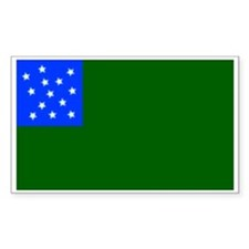 Green Mountain Boys Rectangle Decal