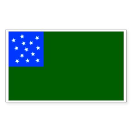 Green Mountain Boys Rectangle Sticker