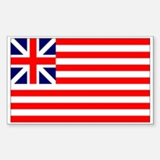 Grand Union Flag Rectangle Decal