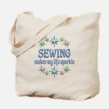 Sewing Sparkles Tote Bag