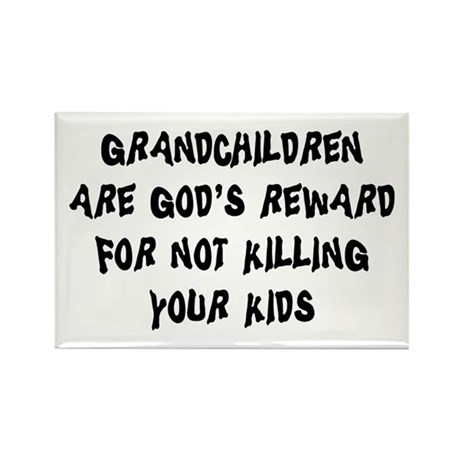 Funny Grandparents Rectangle Magnet (100 pack)