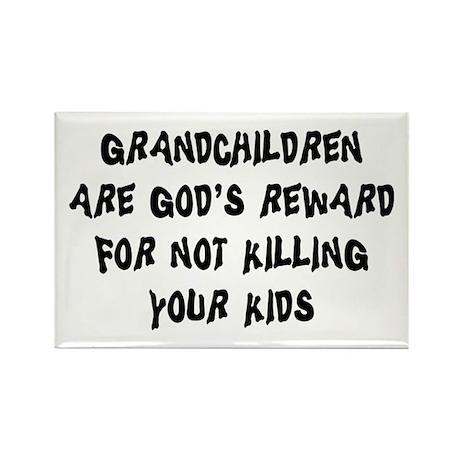 Funny Grandparents Rectangle Magnet