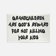 Funny Grandparents Rectangle Magnet