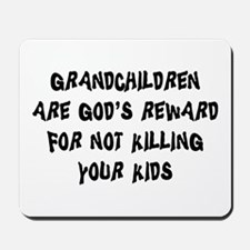 Funny Grandparents Mousepad