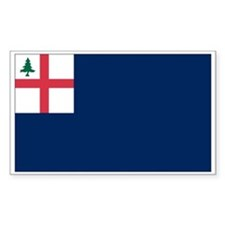 Bunker Hill Flag Rectangle Decal
