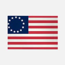 Betsy Ross flag Rectangle Magnet