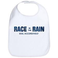 Race in the Rain Dial Accordingly Bib