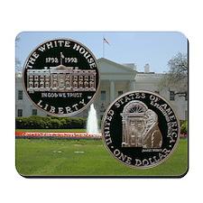 1992 White House Dollar Mousepad