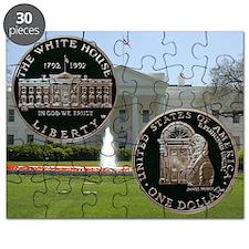 1992 White House Dollar Puzzle