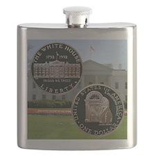 1992 White House Dollar Flask