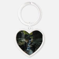 Watkins Glen Heart Keychain