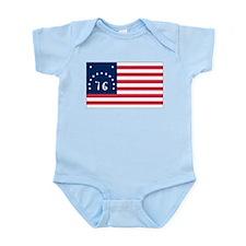 Bennington flag Infant Bodysuit