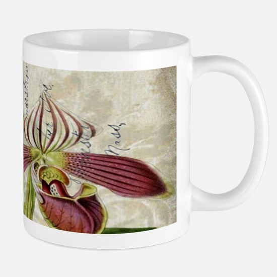 orchid french botanical art paris fashion Mugs