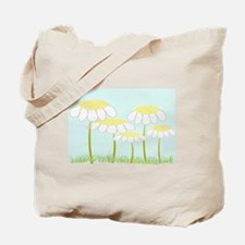 Whimsical Daisies AR Tote Bag