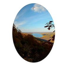 Honeoye Lake Oval Ornament