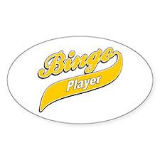 Bingo Oval Decal