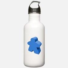 Blue Meeple Water Bottle