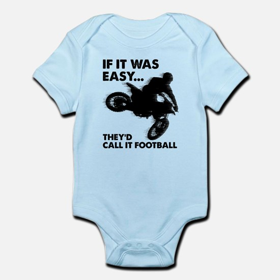 If It Was Easy Theyd Call It Football Body Suit