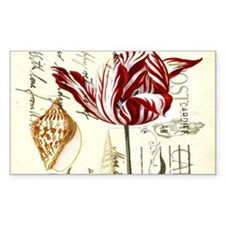 orchid french botanical art paris fashion Decal