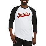 Rude Baseball Jersey