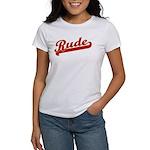 Rude Women's T-Shirt