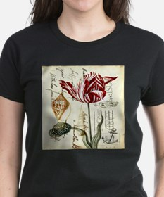 orchid french botanical art paris fashion T-Shirt