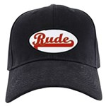 Rude Black Cap