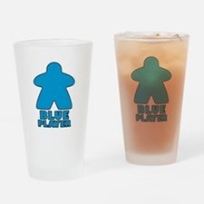Blue Player Drinking Glass