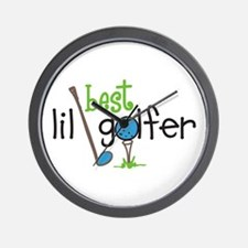 Best Lil Golfer Wall Clock