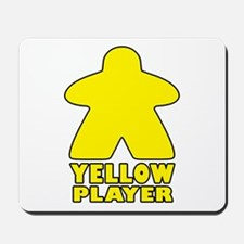Yellow Player Mousepad