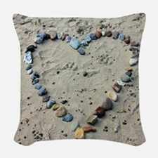 beach-193786 Woven Throw Pillow
