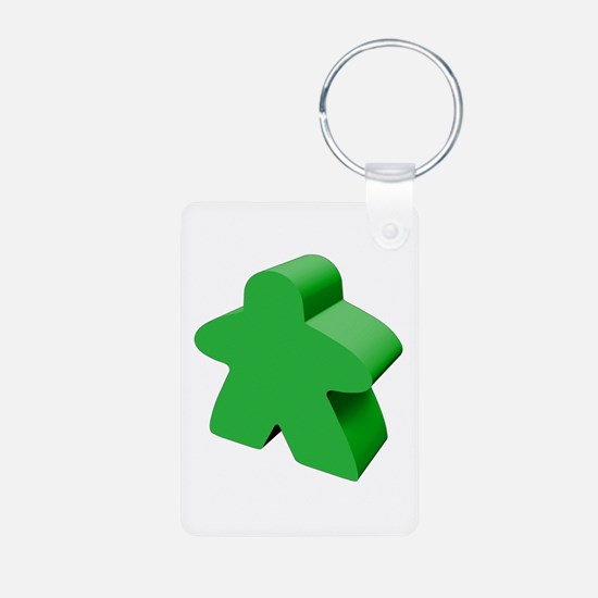 Green Meeple Keychains
