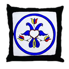 Double Eagle Hex Throw Pillow