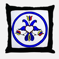 Double Eagle Hex Throw Pillow