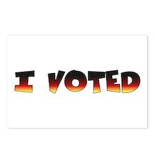 I voted (for post election) Postcards (8)