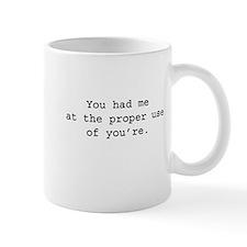 Proper Language Small Mugs