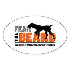 Fear The Beard - Gwp Decal